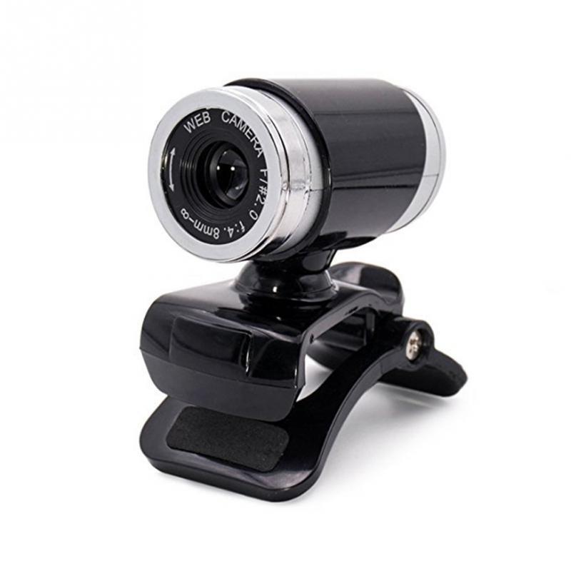 2018 Nova Arrivials 12 Megapixels HD USB 2.0 Webcam Camera MIC com Clip-on para Computador PC Laptops