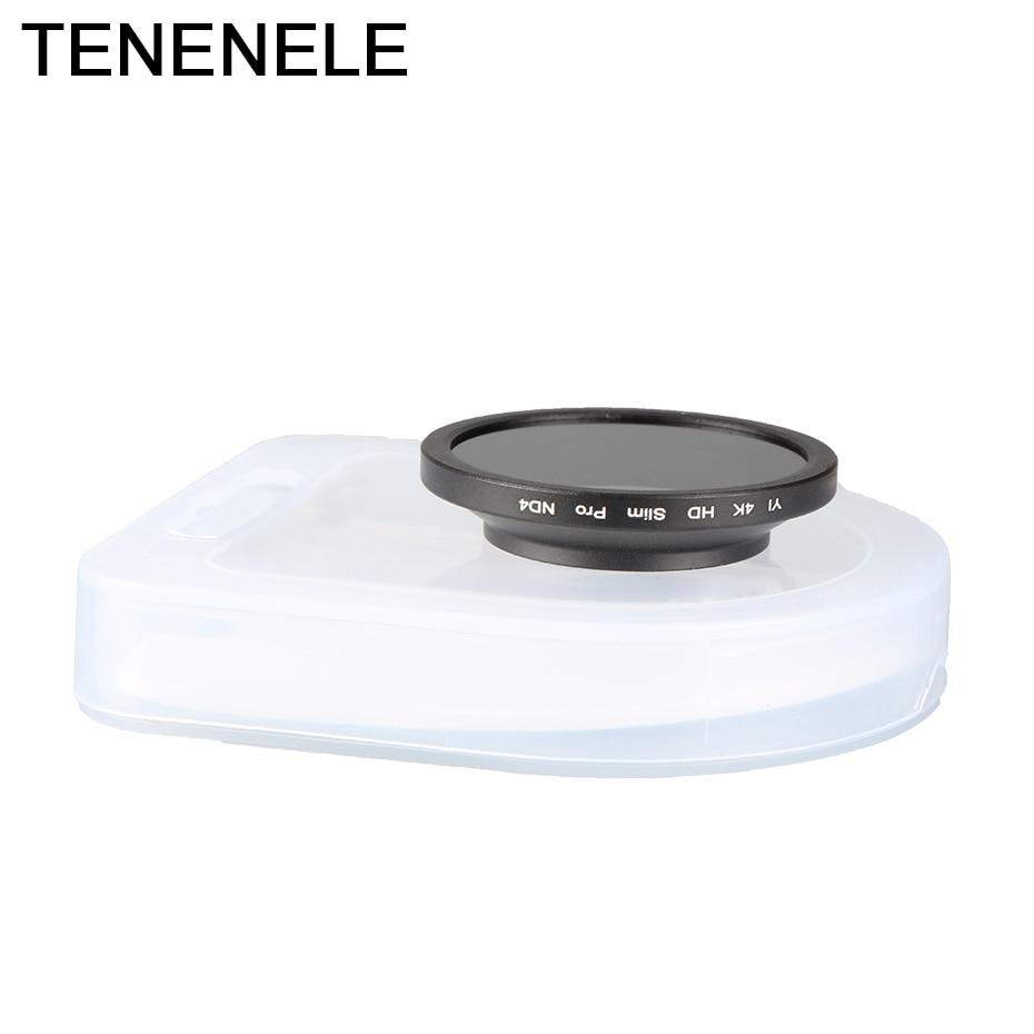 Cámara deportiva de acción 37//52mm Kit de Filtro CPL UV ND2-400 Lente para Ants Yi 4K 4K