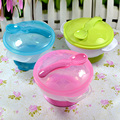 Baby Spoon Bowl Learning Dishes With Suction Cup Assist Food Bowl Temperature Sensing Spoon Kids Tableware