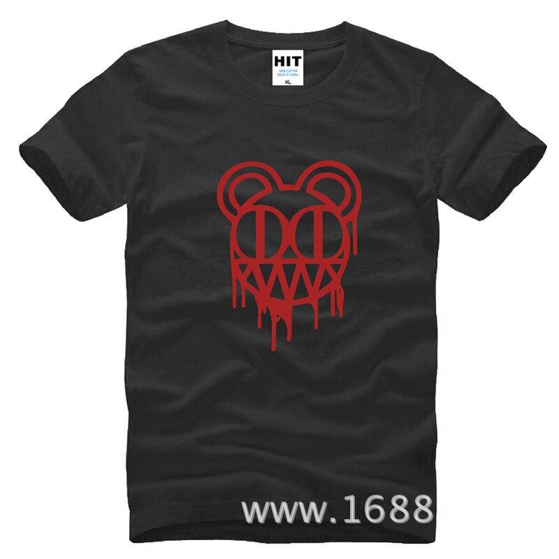 Radiohead rockband Herrman T-shirt Tröja för mode 2015 New Short - Herrkläder - Foto 5