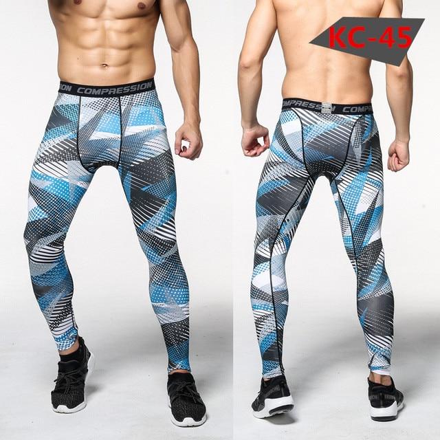 Pantalon Collant Homme Fitness 3