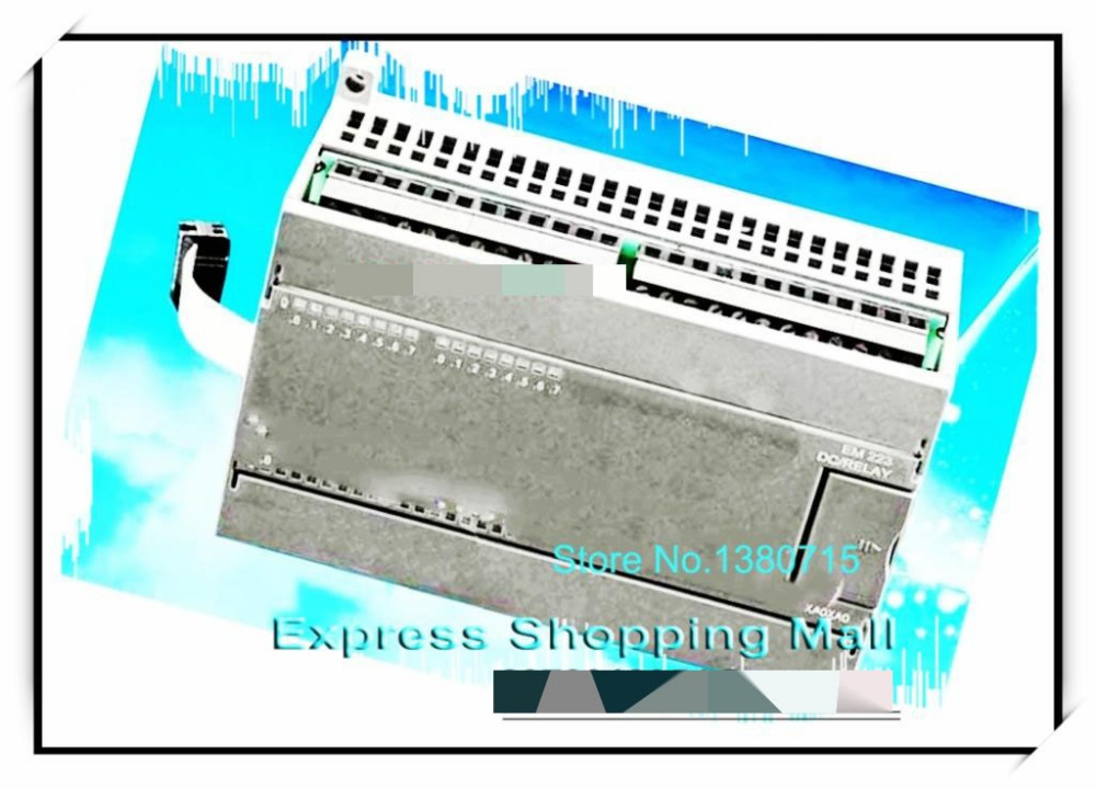 Nouveau module d'extension de commutateur de PLC de sortie de transistor de 32 canaux Original EM222-TQ32 compatible avec s7-200