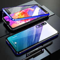 Luxury Full Body Coverage Case For Huawei P20 Pro Magnetic Case Shockproof Clear Glass Back Cover For Huawei P20Pro Case P 20