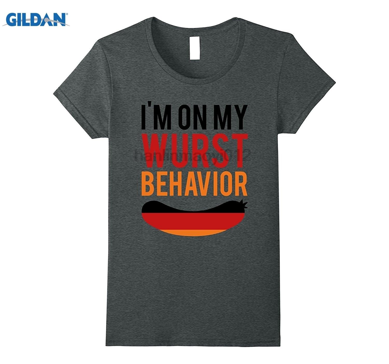 Возьмите Wurst поведение Октоберфест Футболка-Смешные Пособия по немецкому языку подарок ...