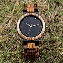 DODO DEER Fashion Men's Wooden Watch Luxury Zebra Watch High Quality Quartz Watch Unique Casual Watch Men's Top Accessories  B17 zhoulianfa t355 fashion deer pattern litchi quartz watch