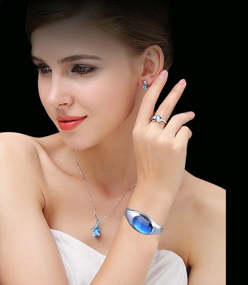 Abay Z18 Bijoux de Femmes Montre Smart Watch Bracelet fréquence Cardiaque en temps Réel La Pression Artérielle Podomètre Mobile Téléphone Données Synchronisation