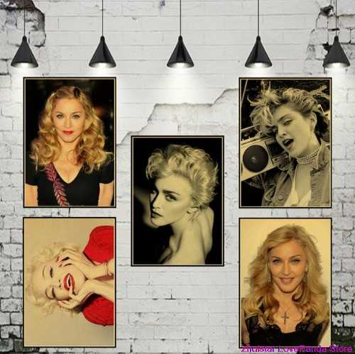 Sexy Madonna Full 5D Diy Diamond Painting Rock music cross stitch kits Diamond Embroidery Mosaic Handmade needlework home decor