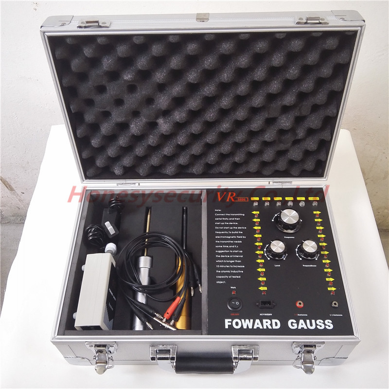 5-50M Adjusting Long Range Professional Gold / Diamond / Metal Detector VR5000 Good Partner for Treasure Hunter professional gold detector long