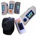 Black Bag Fingertip Pulse Oximeter, Blood Oxygen SpO2 saturation oximetro monitor oxymetre pulsometros saturimetro