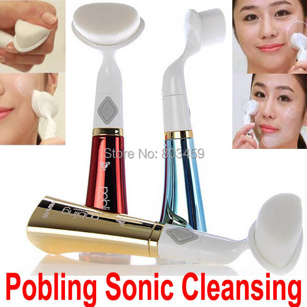 Pobling Ultrasonic Face Care Brush Eletrical Facial Cleansing Massage Tool Machine Facial brush clari Pore Sonic Cleanser new 5in1 face brush cleansing multifunction electric ultrasonic wash spa skin care massage face brushes facial cleanser tool