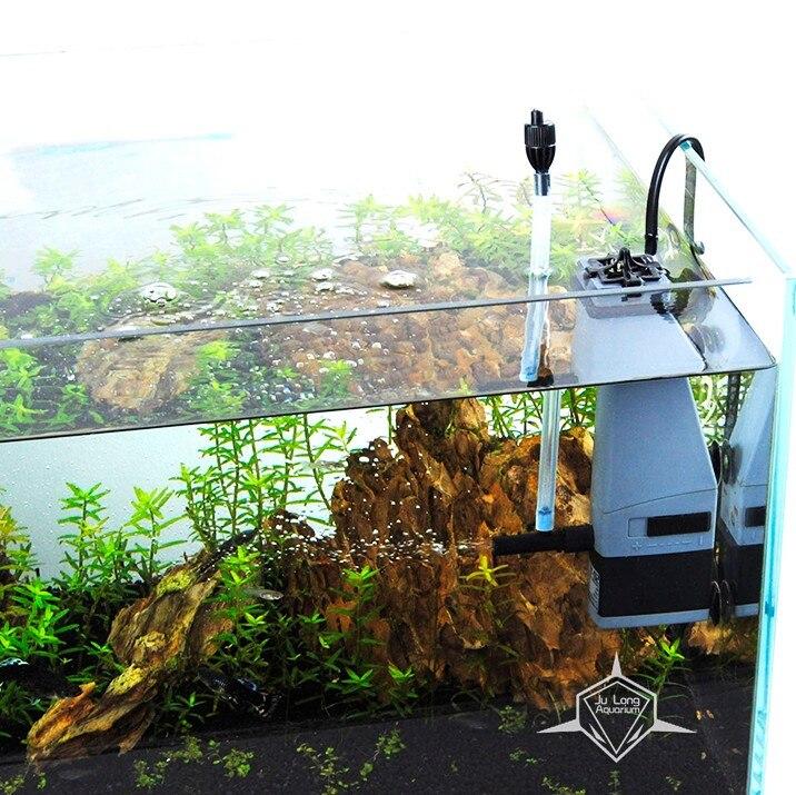 mini oxigén felületi skimmer 3w 300L / h szűrő szivattyú - Pet termékek