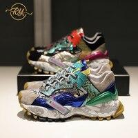 Precio RY RELAA zapatillas de deporte a la moda para mujer 2018 de descuento zapatos blancos zapatos