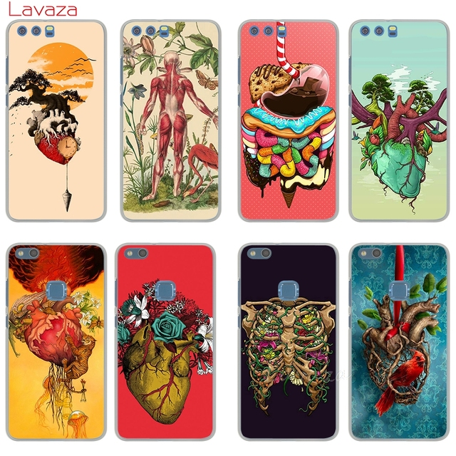 Lavaza Designs Human Anatomy Cell Hard Phone Shell Cover For Huawei
