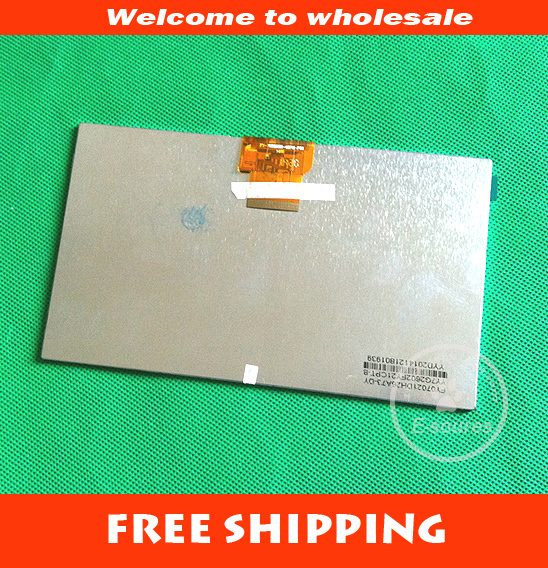New 40PIN 7 FY-70DZ02H-40PM-P08 LCD Display Screen For Ampe G750 G705 Ampe A71 Tablet pc Replacements Free Shipping original 7 inch lcd display kr070lf7t for tablet pc display lcd screen 1024 600 40pin free shipping 165 100mm