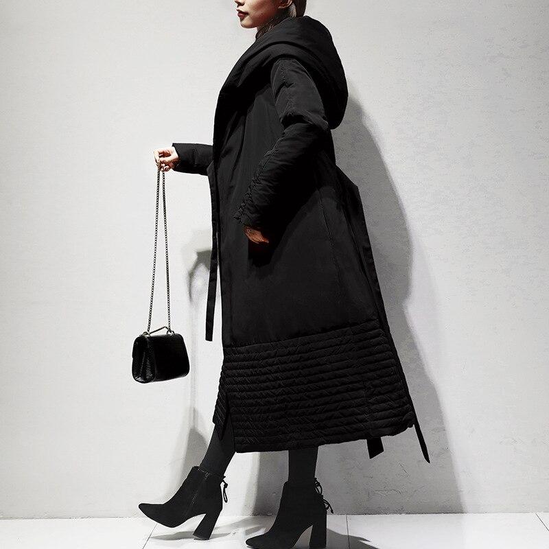 red Black Canard Capuchon Outwear D'hiver Manteaux Bas Haute Duvet Vers Blanc Et 90 Européen À Le Pardessus Qualité Femmes Américain De Femme Veste Nouvelle Xwgq4BwO