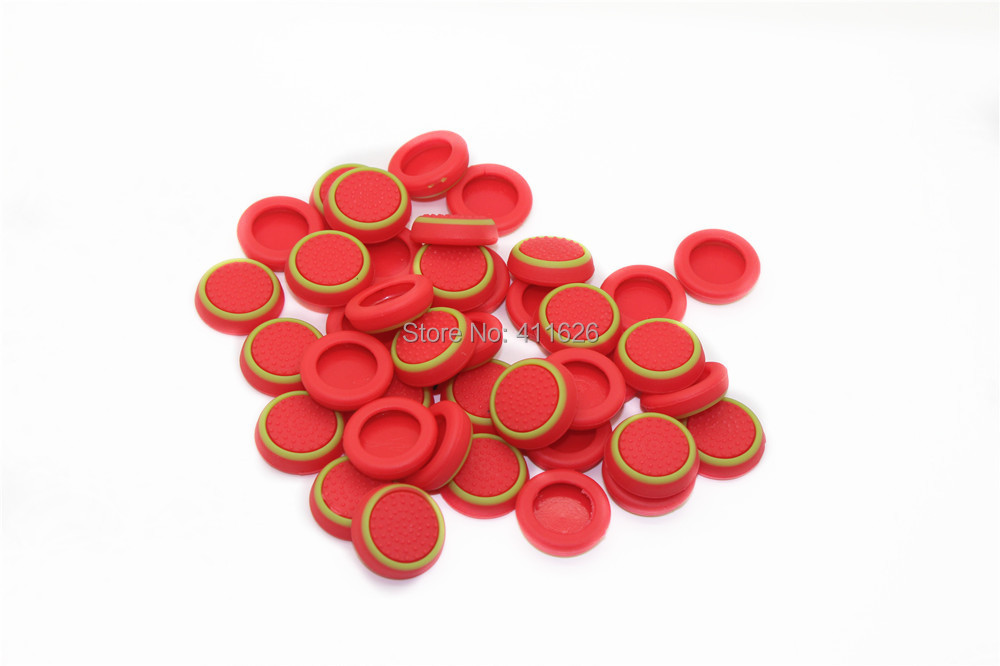 new style silicone thumbstick grips caps for PS4 games accessories