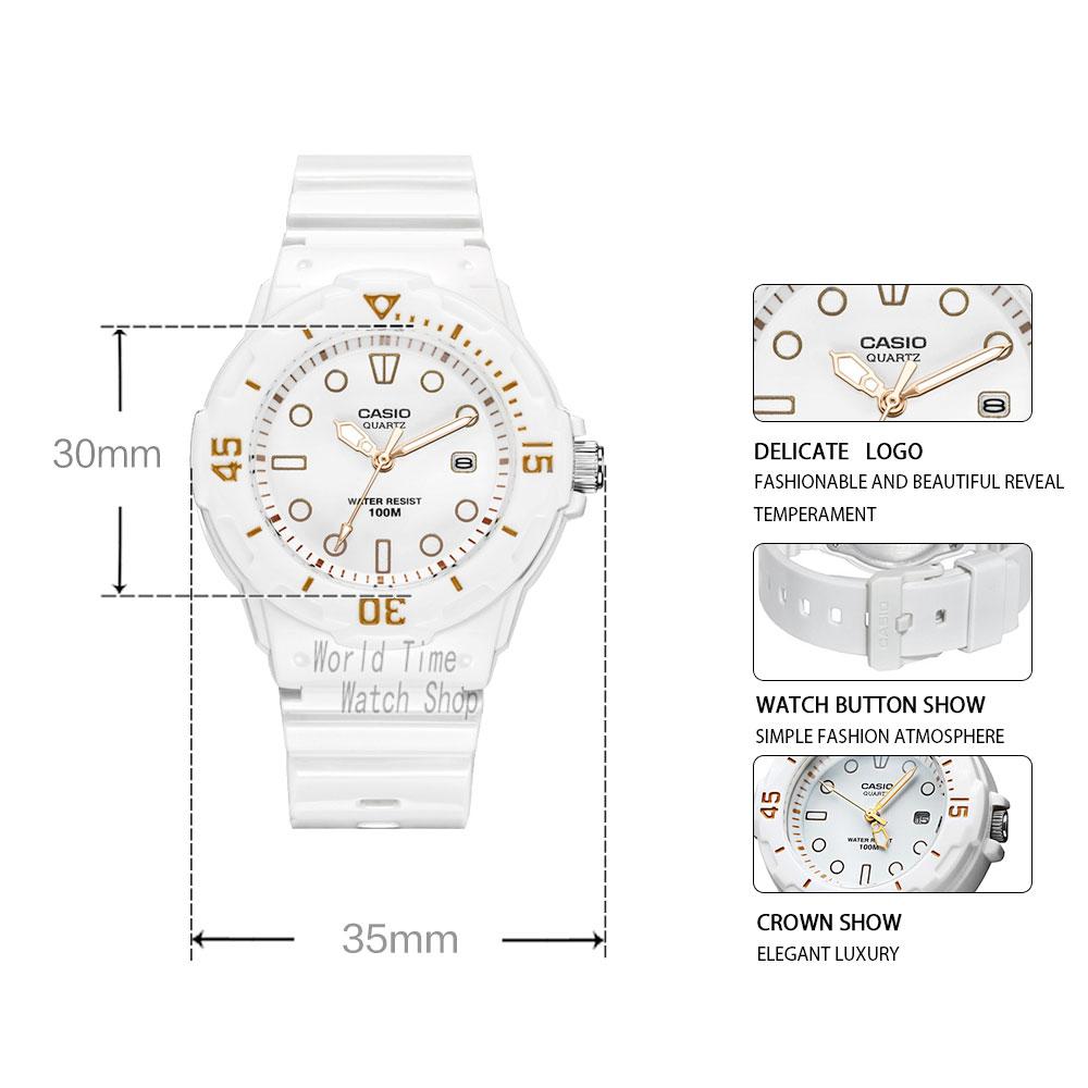 Casio watch diving women watches Set top brand luxury 100mWaterproof Quartz watch ladies Gift Clock Sport watch wome reloj mujer 2
