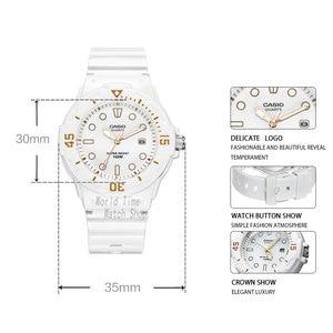 Image 2 - Casio watch diving women watches Set top brand luxury 100mWaterproof Quartz watch ladies Gift Clock Sport watch wome reloj mujer