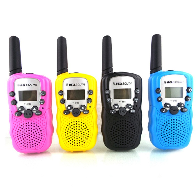 2Pcs Child Kids Toy Walkie Talkie Parenting Game Mobile Phone Telephone Talking Toy 1-2KM Range For Kids