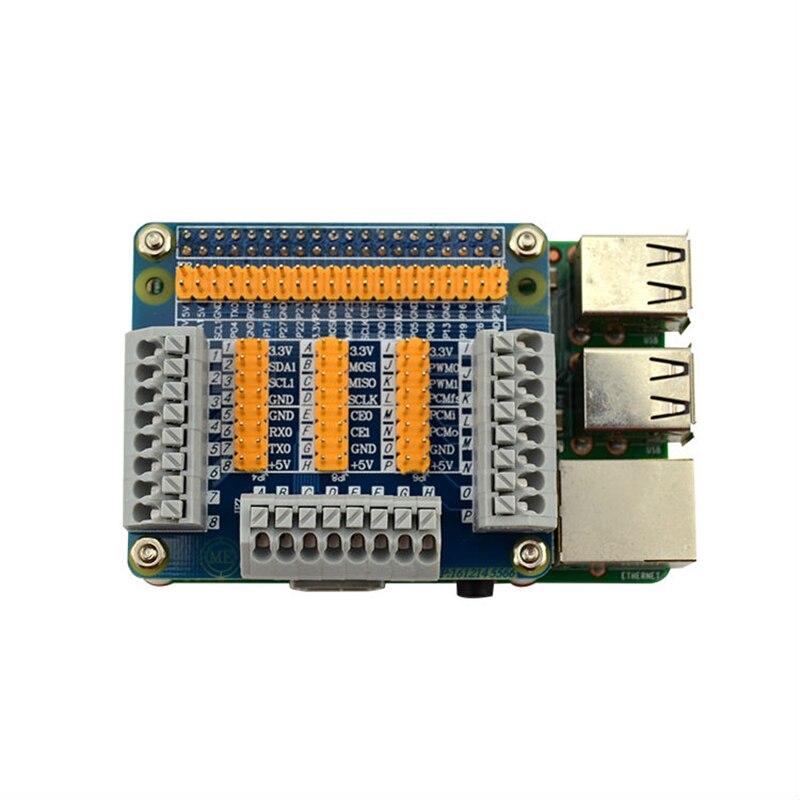 For Raspberry Pi 2 / 3 model b GPIO Extension Board Multifunction GPIO Module For Orange Pi PC Banana Pi M3/Pro