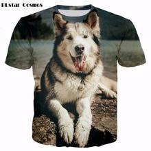 Dog 3D Print T-Shirt