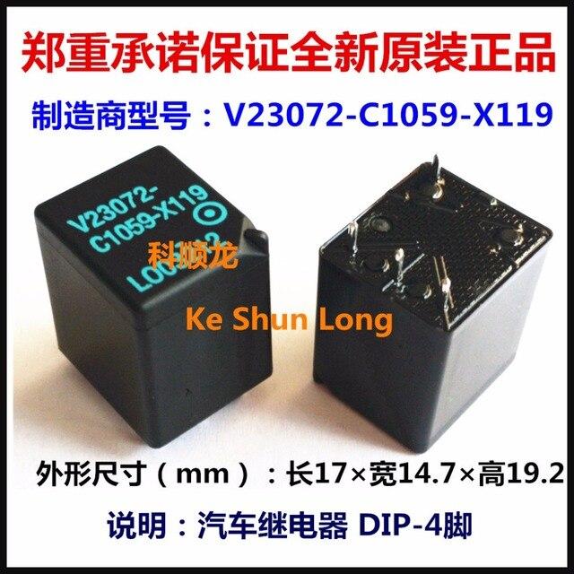 4801ffb2f Lote frete grátis (10 peças/lote) 100% Original Novo V23072 C1059 ...