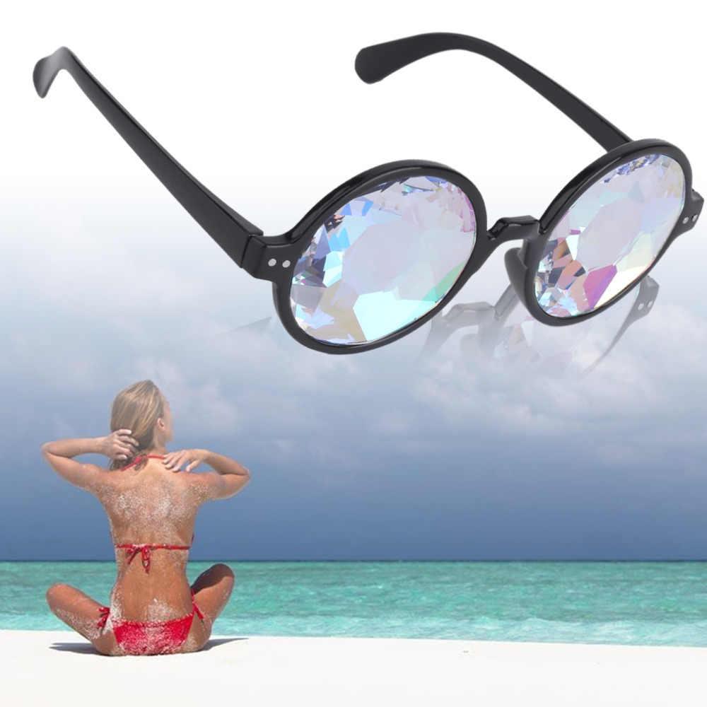 ... lunette de soleil femme homme zonnebril dames. US  4.67. 4.7 (20). 35  Orders. 2018 Fashion Retro Round Gothic Rave Sunglasses with prism  holographic Men ... 850fb5ce9ebe