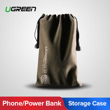Ugreen Power Bank Case Phone Pouch for iPhone Samsung Xiaomi Huawei Waterproof Powerbank Storage Bag Mobile Phone Accessories(China)