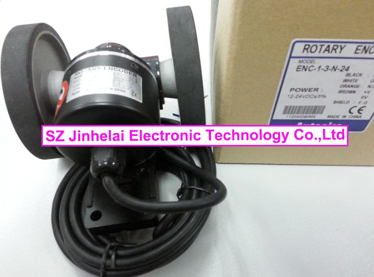 100% New and original  ENC-1-3-N-24   Autonics  Roller incremental rotary encoder 100% new and original e50s8 360 3 n 24 e50s8 60 3 t 24 autonics incremental rotary encoder