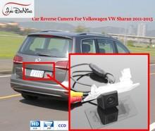 JanDeNing Luz Da Placa de Licença OEM/HD CCD Car Rear View Estacionamento/Câmera Reversa de Backup Para Volkswagen VW Sharan 2011-2015