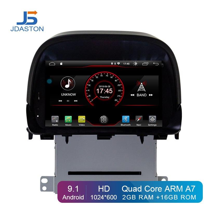 Lecteur DVD de voiture JDASTON 8 pouces HD Android 9.1 pour OPEL MOKKA 2 Din autoradio GPS Navigation multimédia stéréo WIFI magnétophone