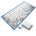 MUXINCAMP ao ar livre cobertor de emergência de primeiros socorros anti radiação isolamento térmico de salvar a vida de emergência saco de dormir quente