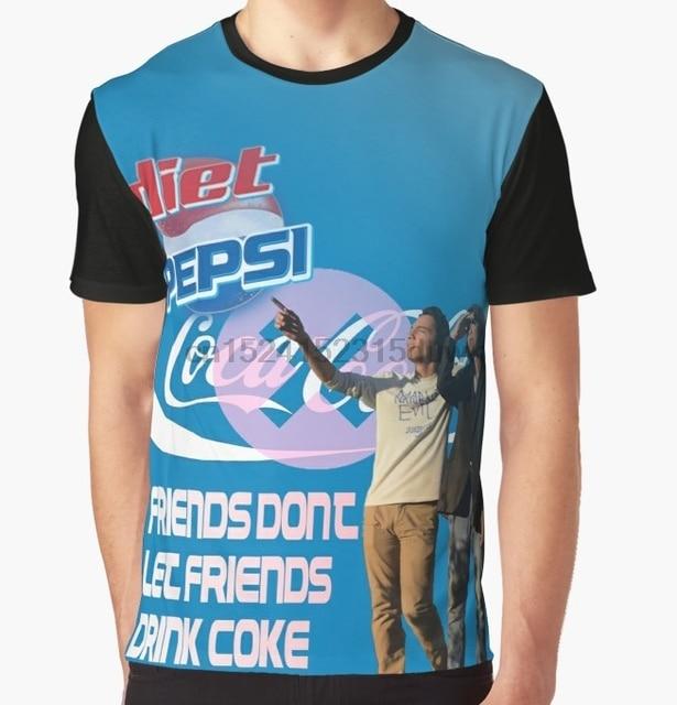 4026ddc93 All Over Print T-Shirt Men Funy tshirt BUY DIET PEPSI Short Sleeve O-Neck  Graphic Tops Tee women t shirt