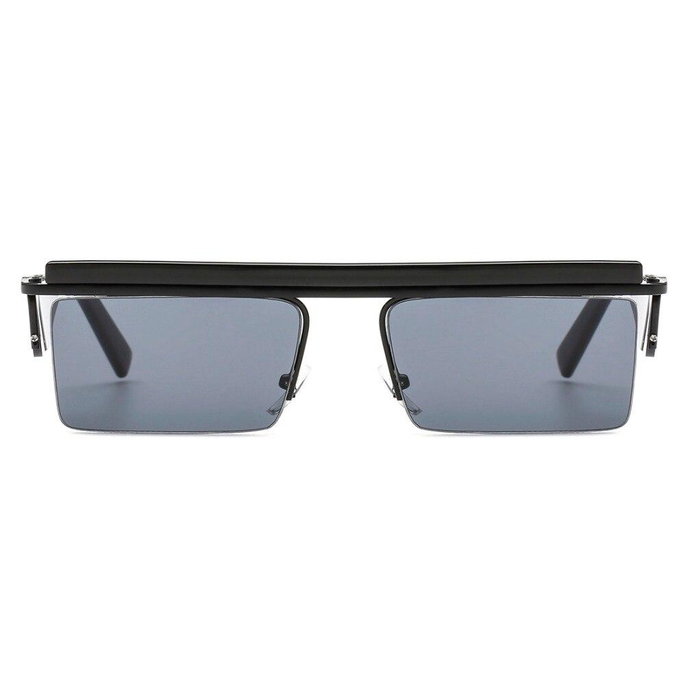 412f5b0c1f6 AEVOGUE Sunglasses Women Unisex Square Goggles Frame Rimless Side Shades  Cool Ocean Clear Lens Sun Glasses Men UV400 AE0587-in Sunglasses from  Apparel ...