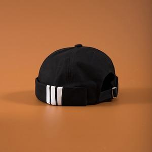 Men's Summer Cotton Brimless Skullies Cap Vintage Urban Unique Street Portable Docker Hats Multipurpose Miki Beanie Hat(China)
