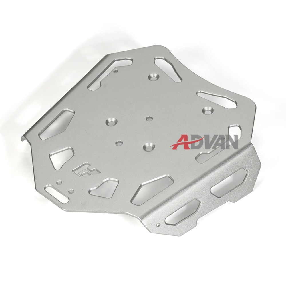Silver Luggage Rack Rear Carrier Plate kit Fit for BMW F800GS F700GS F650GS luggage rack