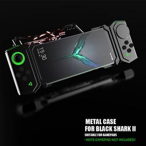 Image 5 - ADKO a prueba de choques de la armadura de dorso de metal para Xiaomi tiburón negro 1 2 Helo de aluminio espada Thor para Xiaomi Blackshark 2 Pro