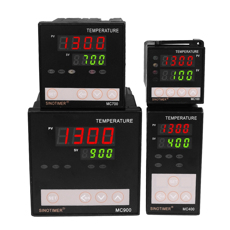 K Thermocouple PT100 Universal Input Digital PID Temperature Controller Regulator Relay Output For Heating Or Cooling With Alarm
