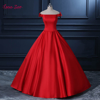 TaooZor Rustic Bows Hot Sale Floral A Line Evening Dresses 2017 Strapless Formal Dress Lace Up For Evening Party Gown Real Photo