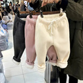 Мальчики девочки зима теплая Брюки KAMIMI Дети мягкие шерстяные брюки хлопок детские Брюки зимние толстые Гетры для ребенка 1-4 лет A901