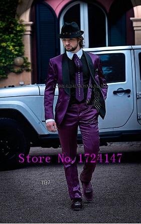 Popular Men Black Purple Jacket-Buy Cheap Men Black Purple Jacket ...