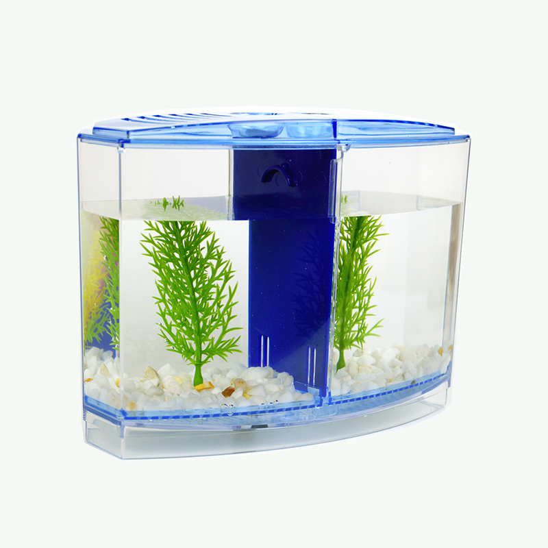 4 Rooms Clear Fish Breeding Box Acrylic Breeder Hatching Incubator Isolation Removing Obstruction Aquariums & Tanks