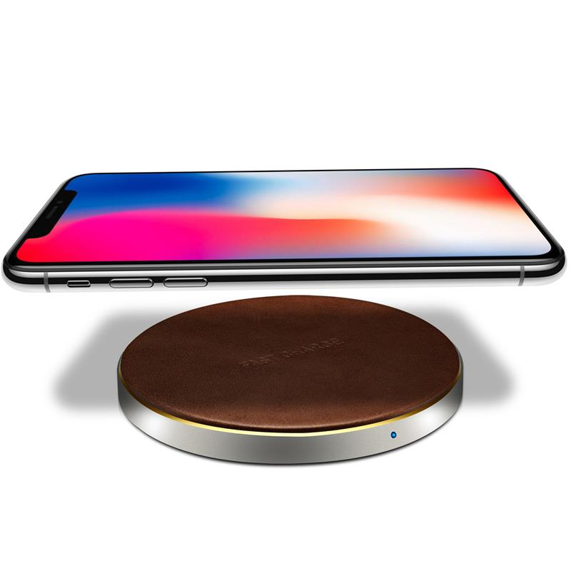 XSKEMP Qi Wireless Charger For Apple iPhone X 8 Plus Fast Smart Phone Charging For Samsung
