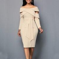 Oversized 4xl 5xl purple blue slash neck long sleeve bodycon dress sukienka elegant plus size dresses for women 4xl 5xl 6xl