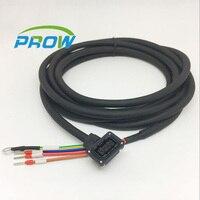 Para mitsubishi MR-JE J3 J4 servo HF-MP MF-KP cabo de Alimentação cabo de Sinal do motor do fio de Fios  Cabos de Assembleias & Cable