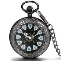 20 штук steakpunk модные Дизайн сердце Форма Механические Мужские Для женщин карман Брелок часы с цепочкой бесплатная доставка Hand ветер оптовая