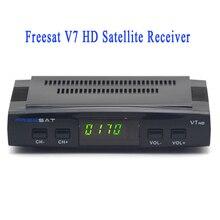 V7 Alta de Satélite Digital TV receptor Freesat PowerVu Biss clave 3G USB WiFi CCcam Newcam Youtube 1080 p Decodificador DVB-S2 caja