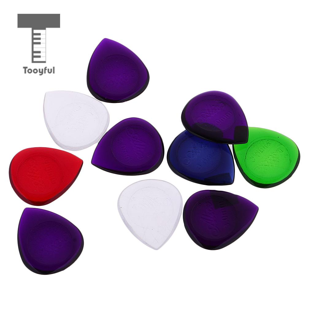 Tooyful Plastic Alice Pick Plectrums Thickness for Acoustic Electric Guitar Bass 3mm