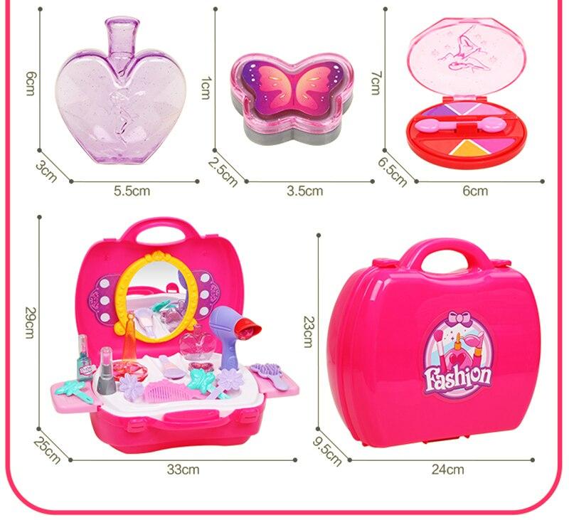 simulação brinquedos educativos diy cosméticos bonecas do