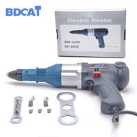 BDCAT 400W Electric Riveter Nail Gun Blind Rivets Gun Riveting Tool Electrical Power Tool For 3.2 5.0mm